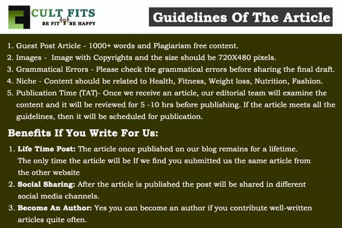 CultFits Guidelines